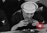 Image of bakeshop on Navy ship Tacoma Washington USA, 1930, second 62 stock footage video 65675050770