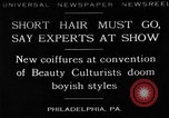 Image of Convention of Beauty Culturists Philadelphia Pennsylvania USA, 1930, second 1 stock footage video 65675050772