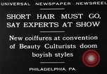 Image of Convention of Beauty Culturists Philadelphia Pennsylvania USA, 1930, second 5 stock footage video 65675050772