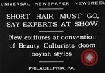 Image of Convention of Beauty Culturists Philadelphia Pennsylvania USA, 1930, second 7 stock footage video 65675050772