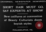 Image of Convention of Beauty Culturists Philadelphia Pennsylvania USA, 1930, second 10 stock footage video 65675050772