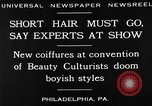 Image of Convention of Beauty Culturists Philadelphia Pennsylvania USA, 1930, second 15 stock footage video 65675050772