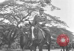 Image of Japanese victory march Manila Philippines, 1942, second 16 stock footage video 65675050784