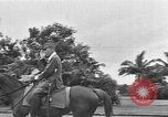 Image of Japanese victory march Manila Philippines, 1942, second 34 stock footage video 65675050784