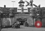 Image of Santo Tomas concentration camp Manila Philippines, 1945, second 21 stock footage video 65675050792