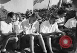 Image of Santo Tomas concentration camp Manila Philippines, 1945, second 32 stock footage video 65675050801