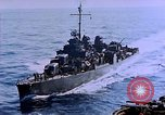Image of Admiral Marc Mitscher Pacific Ocean, 1945, second 33 stock footage video 65675050830