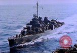 Image of Admiral Marc Mitscher Pacific Ocean, 1945, second 34 stock footage video 65675050830