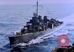 Image of Admiral Marc Mitscher Pacific Ocean, 1945, second 35 stock footage video 65675050830