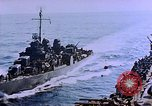 Image of Admiral Marc Mitscher Pacific Ocean, 1945, second 38 stock footage video 65675050830