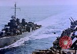 Image of Admiral Marc Mitscher Pacific Ocean, 1945, second 39 stock footage video 65675050830