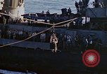 Image of Admiral Marc Mitscher Pacific Ocean, 1945, second 57 stock footage video 65675050830