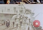 Image of Aftermath of kamikaze attack on USS Enterprise Pacific Ocean, 1945, second 1 stock footage video 65675050831