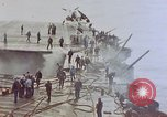 Image of Aftermath of kamikaze attack on USS Enterprise Pacific Ocean, 1945, second 6 stock footage video 65675050831