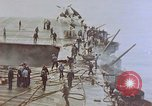 Image of Aftermath of kamikaze attack on USS Enterprise Pacific Ocean, 1945, second 9 stock footage video 65675050831