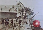 Image of Aftermath of kamikaze attack on USS Enterprise Pacific Ocean, 1945, second 10 stock footage video 65675050831