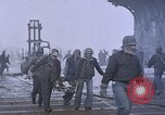 Image of USS Enterprise severely damaged by Kamikaze strike Pacific Ocean, 1945, second 42 stock footage video 65675050835