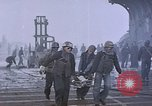 Image of USS Enterprise severely damaged by Kamikaze strike Pacific Ocean, 1945, second 43 stock footage video 65675050835