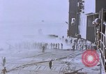 Image of USS Enterprise severely damaged by Kamikaze strike Pacific Ocean, 1945, second 49 stock footage video 65675050835