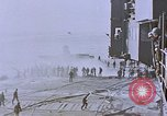 Image of USS Enterprise severely damaged by Kamikaze strike Pacific Ocean, 1945, second 50 stock footage video 65675050835