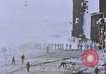 Image of USS Enterprise severely damaged by Kamikaze strike Pacific Ocean, 1945, second 53 stock footage video 65675050835