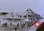 Image of USS Enterprise severely damaged by Kamikaze strike Pacific Ocean, 1945, second 56 stock footage video 65675050835