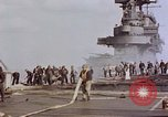 Image of USS Enterprise kamikaze attack Pacific Ocean, 1945, second 48 stock footage video 65675050836