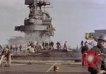 Image of USS Enterprise kamikaze attack Pacific Ocean, 1945, second 51 stock footage video 65675050836