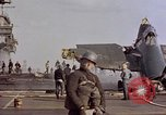 Image of USS Enterprise kamikaze attack Pacific Ocean, 1945, second 53 stock footage video 65675050836