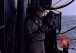 Image of U.S. Navy TBF Avenger aircraft drop practice bombs on target sled Pacific Ocean, 1945, second 48 stock footage video 65675050838