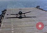 Image of aircraft Pacific Ocean, 1945, second 4 stock footage video 65675050840