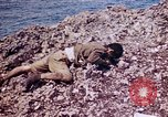 Image of dead bodies Tinian Island Mariana Islands, 1944, second 45 stock footage video 65675050848