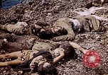 Image of dead bodies Tinian Island Mariana Islands, 1944, second 60 stock footage video 65675050848