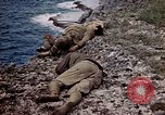 Image of dead bodies Tinian Island Mariana Islands, 1944, second 62 stock footage video 65675050848