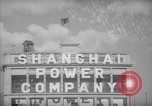 Image of Shanghai Power Company Shanghai China, 1938, second 30 stock footage video 65675050894