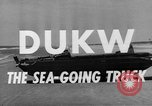 Image of DUKWs United States USA, 1943, second 20 stock footage video 65675050919
