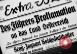 Image of German occupation Austria, 1938, second 1 stock footage video 65675050927