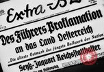 Image of German occupation Austria, 1938, second 2 stock footage video 65675050927