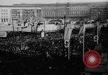 Image of Parade welcomes Hitler on return from Austria during Anschluss Berlin Germany, 1938, second 15 stock footage video 65675050936