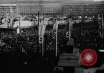 Image of Parade welcomes Hitler on return from Austria during Anschluss Berlin Germany, 1938, second 16 stock footage video 65675050936