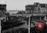 Image of Parade welcomes Hitler on return from Austria during Anschluss Berlin Germany, 1938, second 24 stock footage video 65675050936