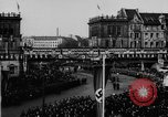 Image of Parade welcomes Hitler on return from Austria during Anschluss Berlin Germany, 1938, second 25 stock footage video 65675050936