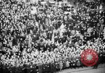 Image of Parade welcomes Hitler on return from Austria during Anschluss Berlin Germany, 1938, second 38 stock footage video 65675050936