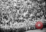 Image of Parade welcomes Hitler on return from Austria during Anschluss Berlin Germany, 1938, second 39 stock footage video 65675050936