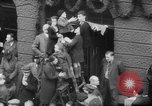 Image of Parade welcomes Hitler on return from Austria during Anschluss Berlin Germany, 1938, second 42 stock footage video 65675050936