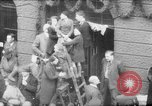 Image of Parade welcomes Hitler on return from Austria during Anschluss Berlin Germany, 1938, second 43 stock footage video 65675050936