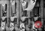 Image of Parade welcomes Hitler on return from Austria during Anschluss Berlin Germany, 1938, second 46 stock footage video 65675050936