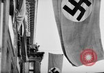 Image of Parade welcomes Hitler on return from Austria during Anschluss Berlin Germany, 1938, second 47 stock footage video 65675050936