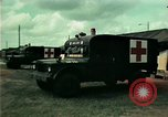 Image of Air Transportable hospital unit provides medical services for Vietnamese refugees Florida United States USA, 1975, second 30 stock footage video 65675050946