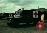 Image of Air Transportable hospital unit provides medical services for Vietnamese refugees Florida United States USA, 1975, second 31 stock footage video 65675050946